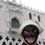 Ferruccio Soleri al Carnevale di Venezia