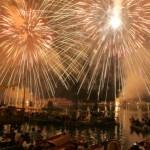 Il Redentore illumina il Bacino di San Marco