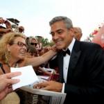 George Clooney alla Mostra del Cinema