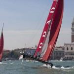 America's Cup a Venezia: Luna Rossa ed Energy danno spettacolo