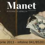 Manet: Ritorno a Venezia