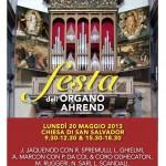 La Festa dell'Organo Ahrend di San Salvador